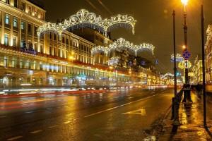 Экскурсия по новогоднему Петербургу с чаепитием и мастер-классом